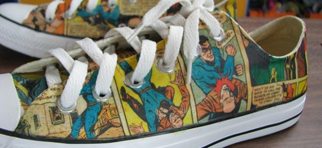 cd0ddc2043af Comic Book Sneakers
