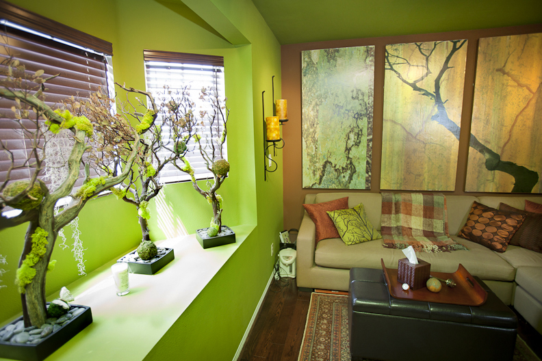 Therapist office design jonathan fong style for Decor therapy