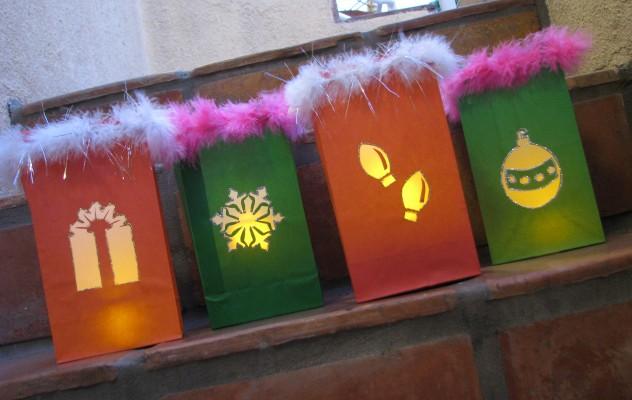 How to make holiday luminaries jonathan fong style for Making luminaries