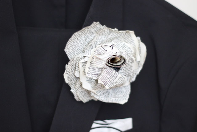 dictionary boutonniere
