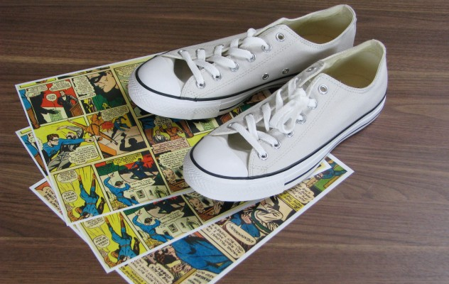 ec28d636f989 Converse sneakers and Shoe Attitude. Converse sneakers and Shoe Attitude. Comic  book shoes