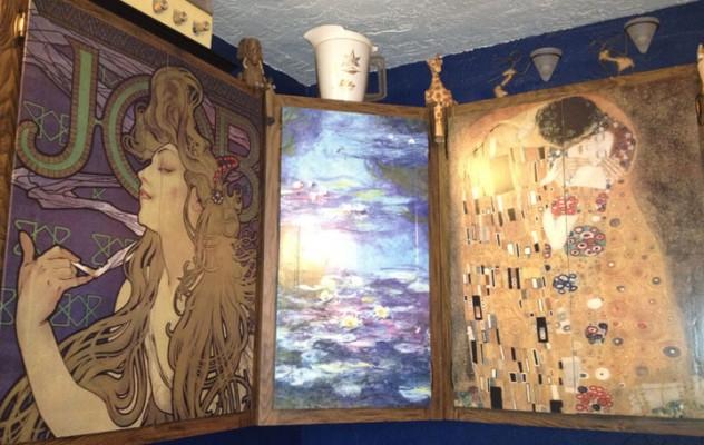 decoupage kitchen cabinets - Jonathan Fong Style